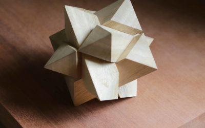 Cadeau de noël: le casse tête chinois fait maison